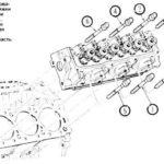 Chevy 4.3 Vortec Глава Момент затяжки