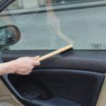 Чистый липкий автомобильный винил