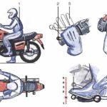 Что такое схема переключения передач на мотоцикле Suzuki?