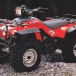 Honda Fourtrax 1990 года Технические характеристики