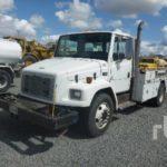 Информация о грузовых автомобилях Freightliner FL60