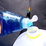 Как использовать спирт, чтобы растопить лед
