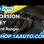 Как изменить Змеиный Пояс в Ford Ranger 2001 года