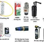 Как конвертировать R12 в систему R134a