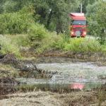 Как ликвидировать разлив дизельного топлива