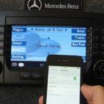 Как настроить телефон в Mercedes C230
