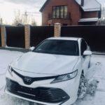 Как обслуживать солнечную крышу в Toyota Camry