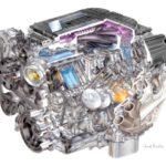Как определить двигатель LT1
