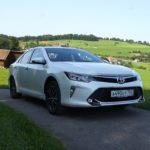 Как определить сигнальные огни на Toyota Camry