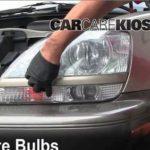 Как отрегулировать луч фары Lexus