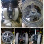Как отремонтировать алюминиевые колеса