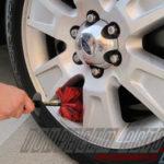 Как отремонтировать прозрачное покрытие на алюминиевом колесе