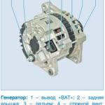 Как подключить 3-проводной генератор переменного тока Delco