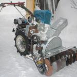 Как подключить снегоочиститель BOSS