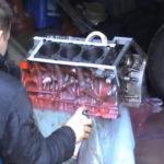 Как покрасить алюминиевые головки двигателя