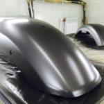 Как покрасить пластиковые детали мотоцикла