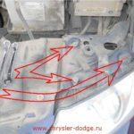 Как поменять фару в Dodge Cars