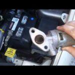 Как поменять клапан рециркуляции отработавших газов на Chrysler Town & Country
