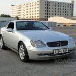 Как поменять лампочки в Mercedes SLK