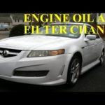 Как поменять моторное масло в Acura 3.2 Tl 2003