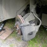 Как поменять передние тормозные колодки на форд 500