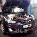Как поменять серпантиновый ремень на автомобили Hyundai