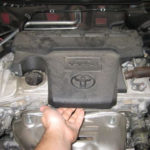 Как поменять свечи зажигания на Toyota Rav4 2001 года