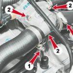 Как поменять термостат на Saab 900S