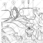 Как поменять термостат в Ford Expedition