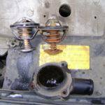 Как поменять термостат в Ford F-150