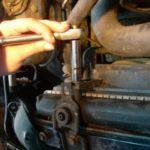 Как поменять термостат в Subaru Outback