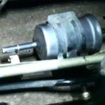 Как поменять топливный фильтр на форд 5.4