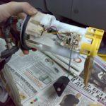 Как поменять топливный фильтр на камри