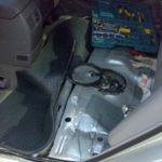 Как поменять топливный фильтр в Toyota Camry 2003 года