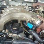 Как поменять выпускной коллектор на Nissan Xterra 2000