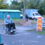 Как пристегнуть инвалидную коляску в фургоне для инвалидной коляски