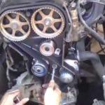 Как проверить и заменить ремень ГРМ в Dodge Caravan