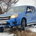 Как проверить индикатор крышки топливного бака на Ford Ranger
