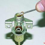 Как проверить регулятор давления впрыска топлива