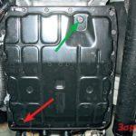 Как проверить уровень трансмиссионной жидкости в Nissan Pathfinder