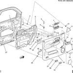 Как разобрать дверную панель Cadillac