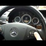 Как сбросить индикатор обслуживания на Mercedes Benz GL450