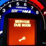 Как сбросить индикатор замены масла на Honda Odyssey