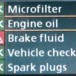 Как сбросить контрольную лампу тормоза