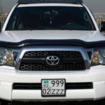 Как сбросить свет низкого давления в Toyota Tacoma