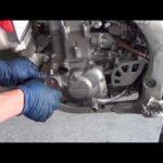Как сделать замену масла на Honda CRF450