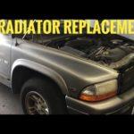 Как слить радиатор в Dodge Dakota 1998 года