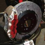 Как сломаться в керамических тормозных колодках