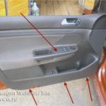 Как снять автомобильные дверные панели