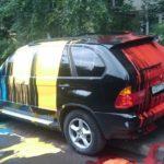 Как снять белую краску с автомобиля